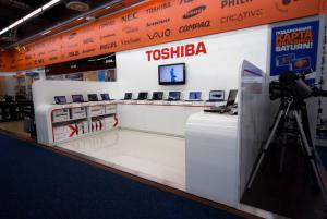 Shop in shop Toshiba